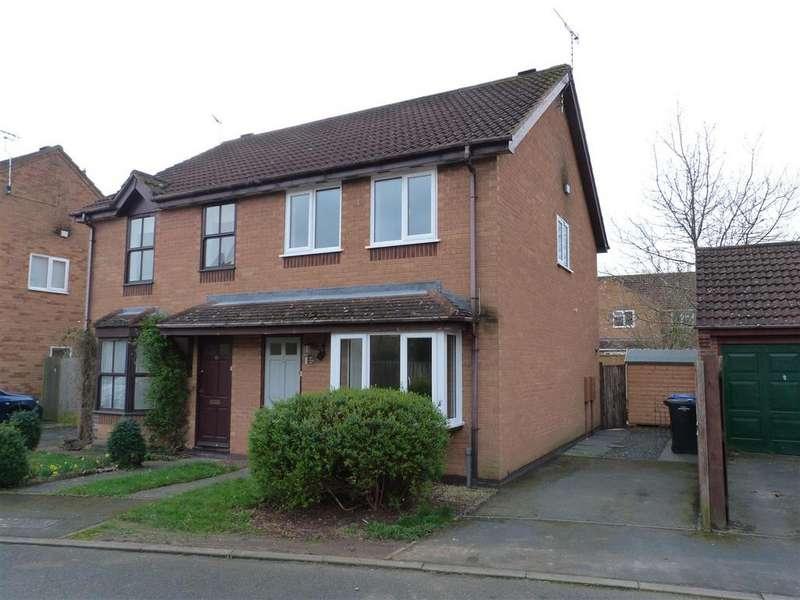 3 Bedrooms Semi Detached House for sale in Deene Close, Market Harborough