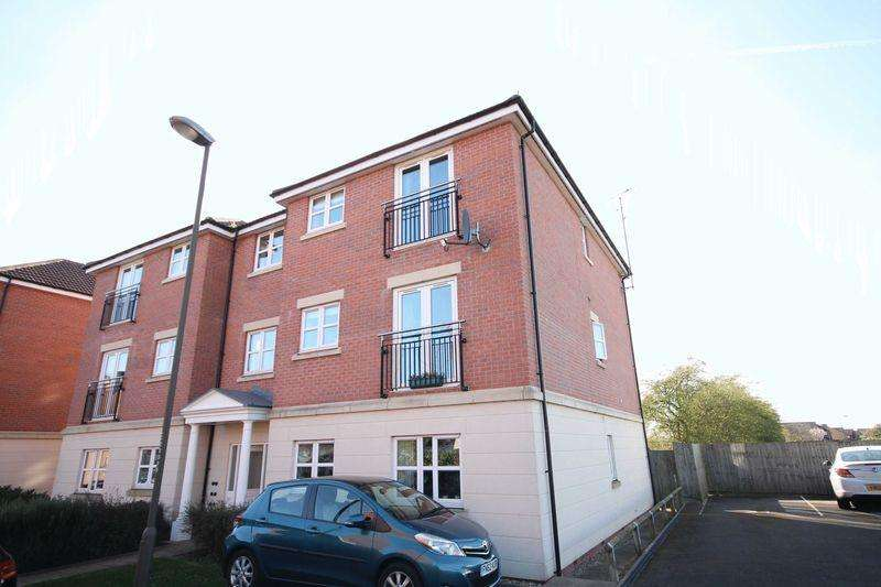 2 Bedrooms Apartment Flat for sale in ANGELICA CLOSE, LITTLEOVER