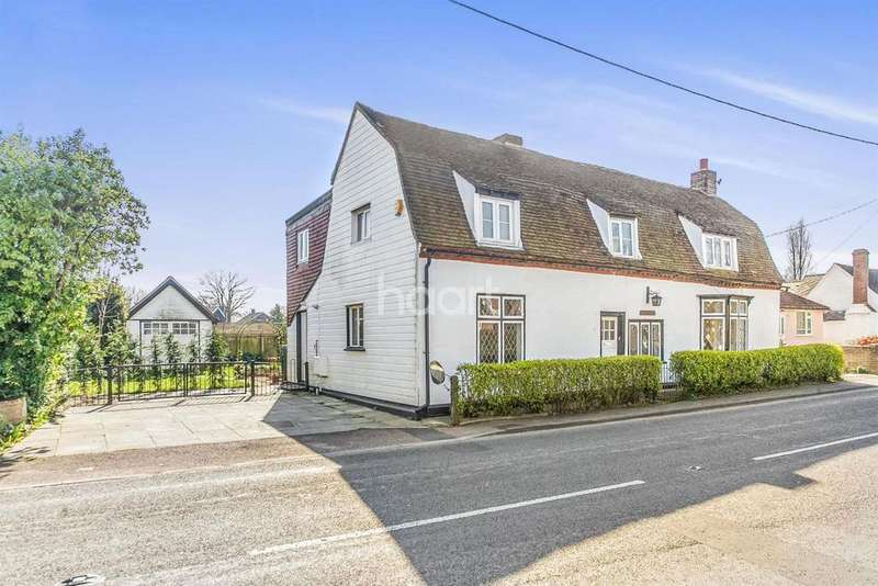 3 Bedrooms Cottage House for sale in Heath Road, East Bergholt, Colchester, Essex