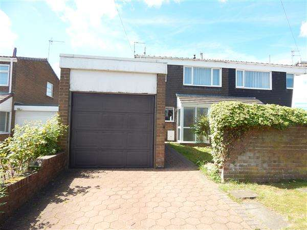 2 Bedrooms Semi Detached House for sale in Ashford Drive, Sacriston