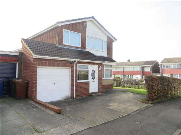 3 Bedrooms Detached House for sale in Elgar Avenue, Newcastle upon Tyne