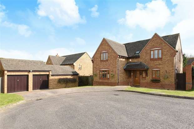 5 Bedrooms Detached House for sale in Pear Tree Close, Bromham