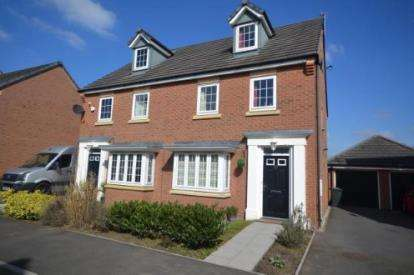 3 Bedrooms Semi Detached House for sale in Chicago Place, Chapelford Village, Warrington, Cheshire
