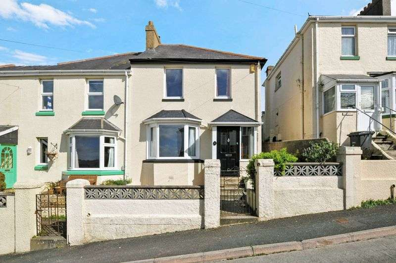 3 Bedrooms Semi Detached House for sale in Pine View Road, Torquay