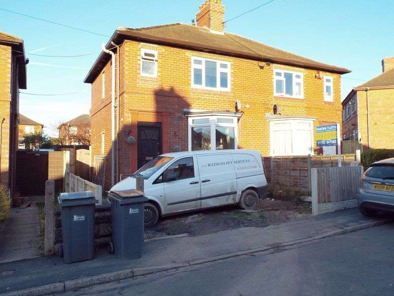 3 Bedrooms Semi Detached House for sale in Blakelow Road, Stoke-On-Trent