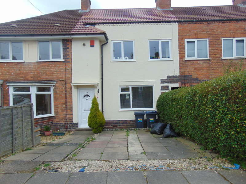 3 Bedrooms Terraced House for sale in Sandmere Road, Yardley Wood