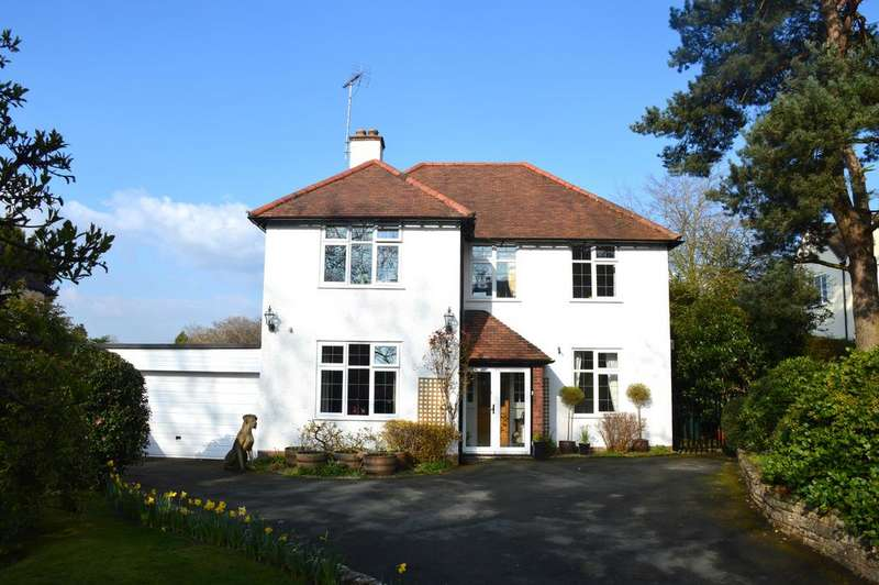 4 Bedrooms Detached House for sale in Thistle Down, Hazler Road, Church Stretton SY6 7AQ