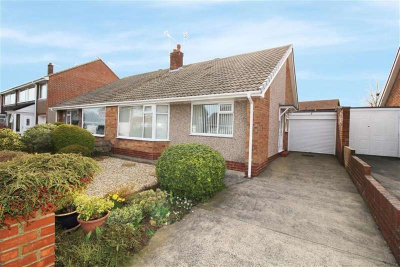 2 Bedrooms Semi Detached Bungalow for sale in Ludlow Avenue, North Shields
