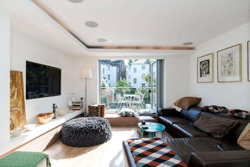 4 Bedrooms End Of Terrace House for sale in Waterside Place, Primrose Hill, London, NW1