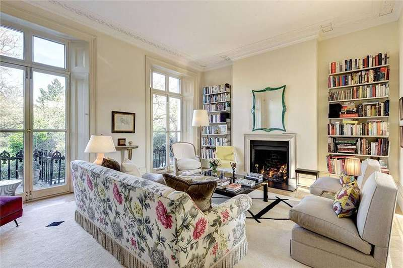5 Bedrooms Terraced House for sale in Ladbroke Square, Notting Hill, London, W11
