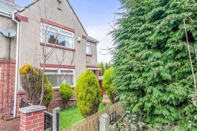 3 Bedrooms Semi Detached House for sale in Lynmouth Place, Newcastle Upon Tyne, NE7