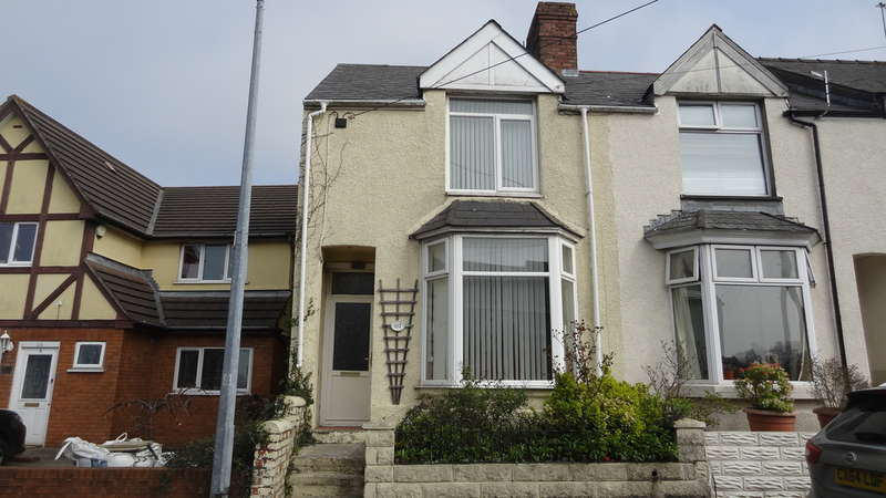 2 Bedrooms End Of Terrace House for sale in Dobbins Road, Barry