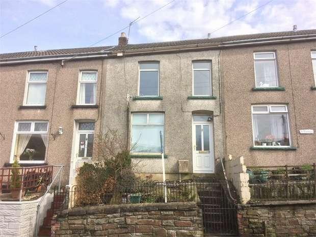 3 Bedrooms Terraced House for sale in Oakfield Terrace, Nantymoel, Bridgend, Mid Glamorgan