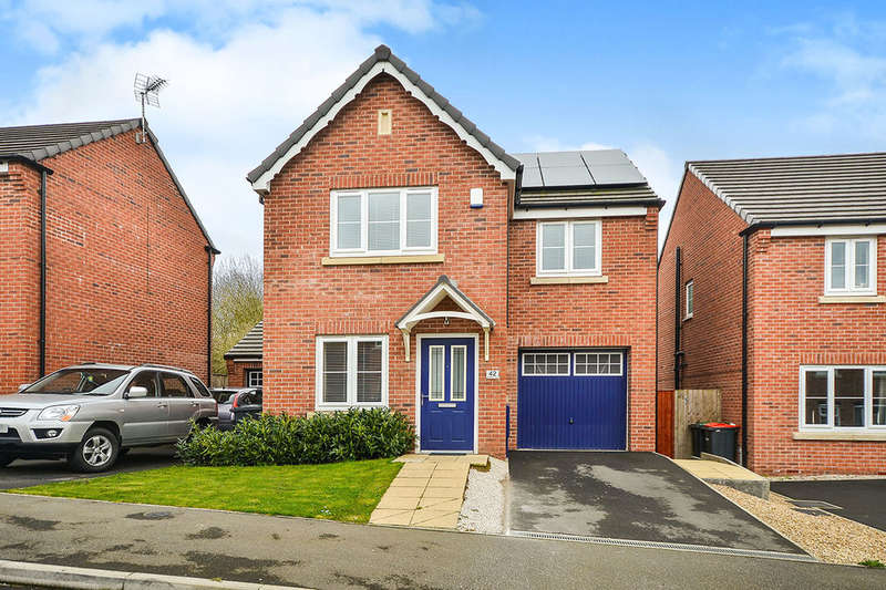 3 Bedrooms Detached House for sale in Parkland View, Huthwaite, Sutton-In-Ashfield, NG17