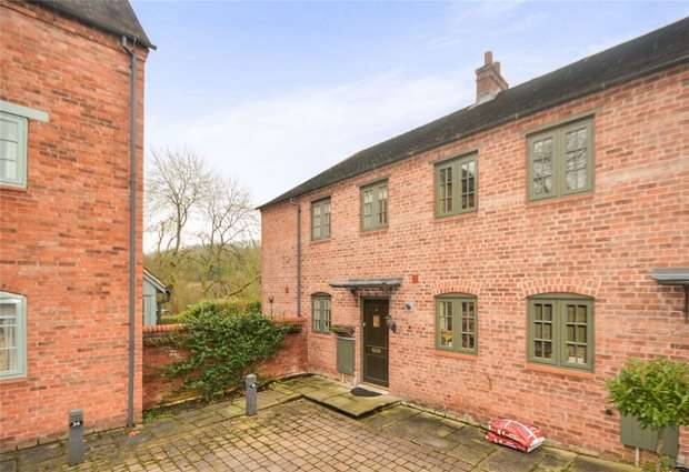 3 Bedrooms End Of Terrace House for sale in Reynolds Wharf, Coalport, Shropshire