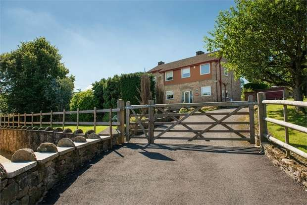 4 Bedrooms Detached House for sale in The Cliff, Tansley, Matlock, Derbyshire