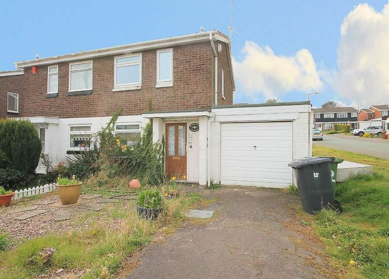 2 Bedrooms Semi Detached House for sale in Cobia, Dosthill,Tamworth, B77 1HS