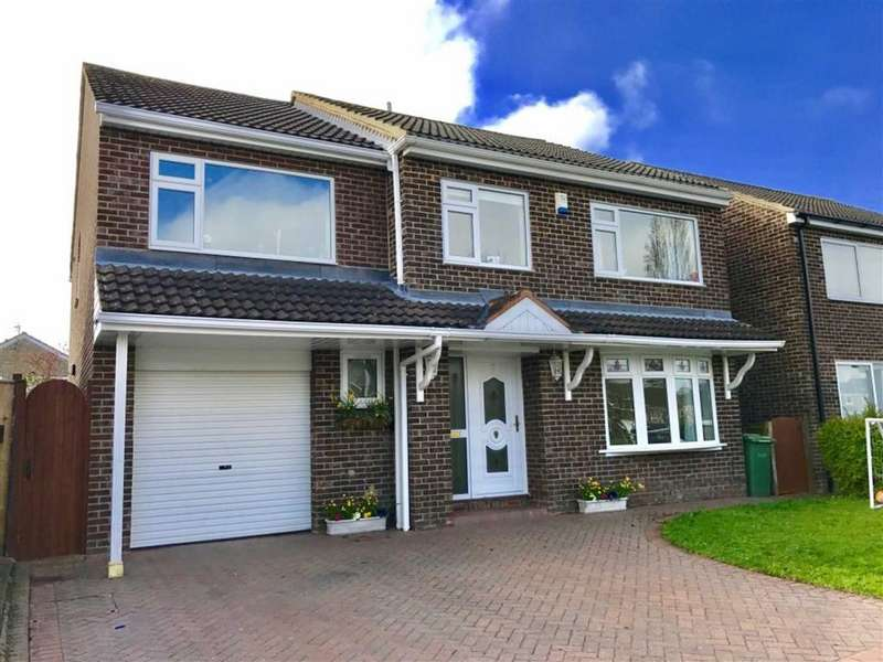 4 Bedrooms Detached House for sale in Holywell Green, Eaglescliffe, Stockton-on-Tees