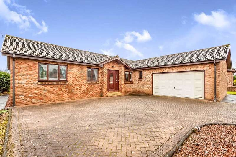 4 Bedrooms Detached Bungalow for sale in Heatherdale Gardens, Denny, FK6