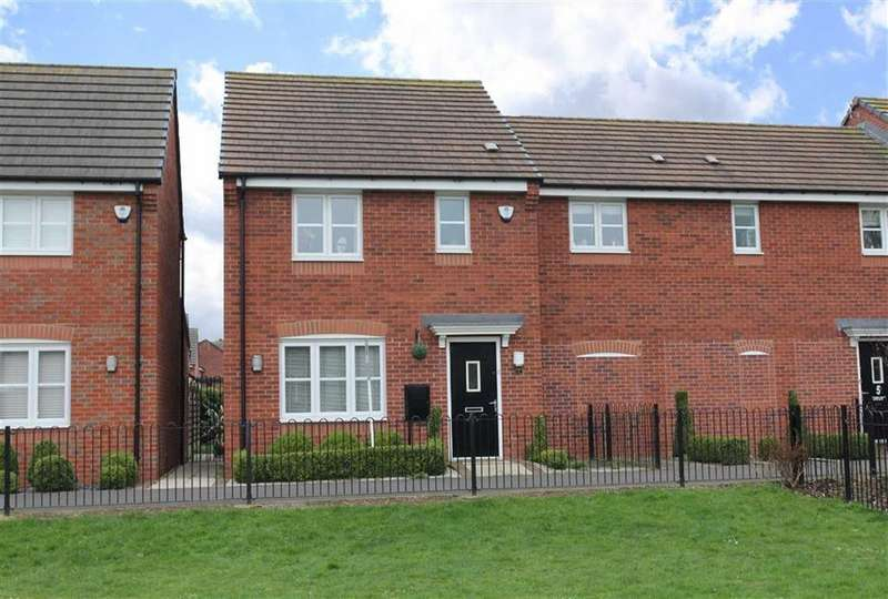 3 Bedrooms Link Detached House for sale in Dragonfly Walk, Aylestone, Leicester