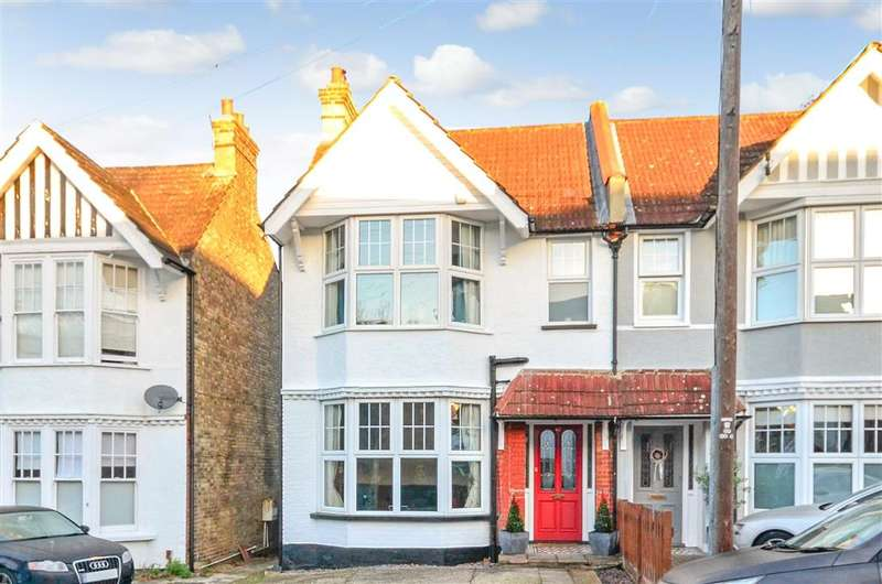 4 Bedrooms Semi Detached House for sale in Cumnor Road, Sutton, Surrey