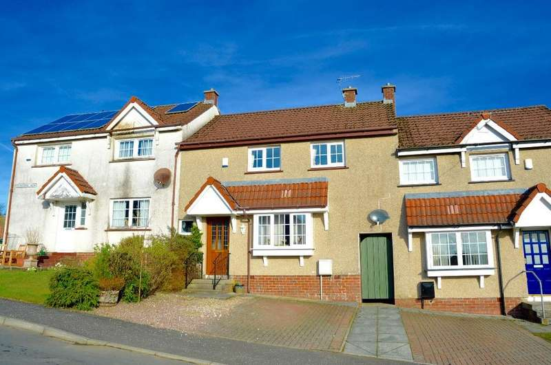 3 Bedrooms Terraced House for sale in Dunaskin View, Patna, Ayrshire, KA6 7NX