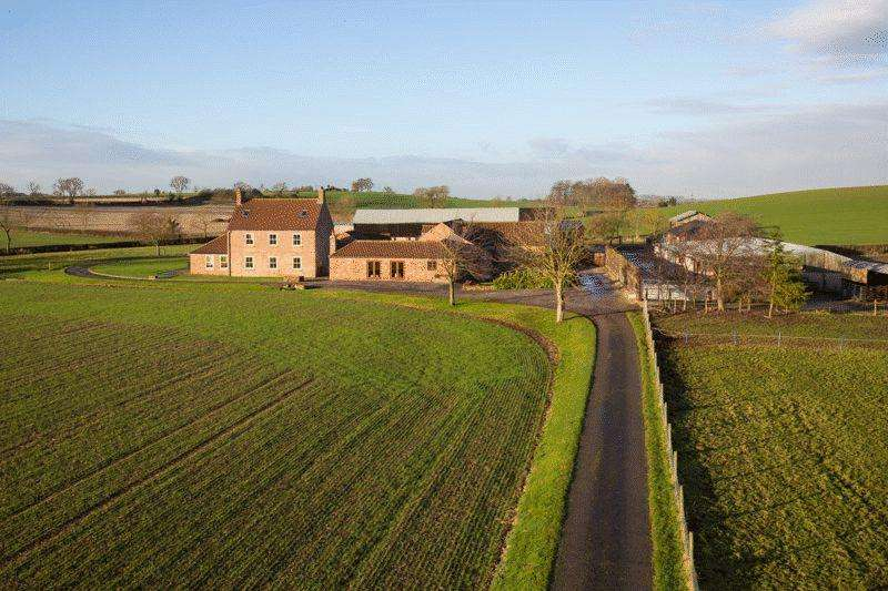 6 Bedrooms Detached House for sale in Dudley Hill Farm Dudley Barn, Sheriff Hutton, York YO60 6RU