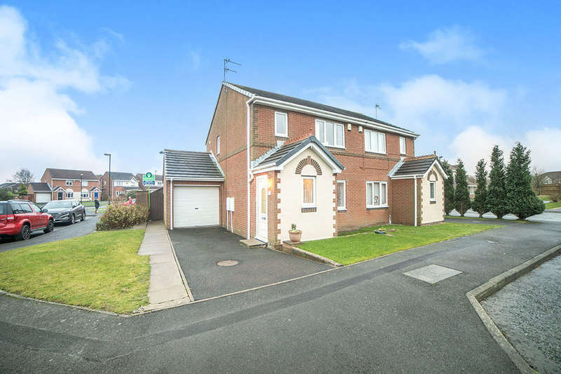 3 Bedrooms Semi Detached House for sale in Holyfields, West Allotment, Newcastle Upon Tyne, NE27