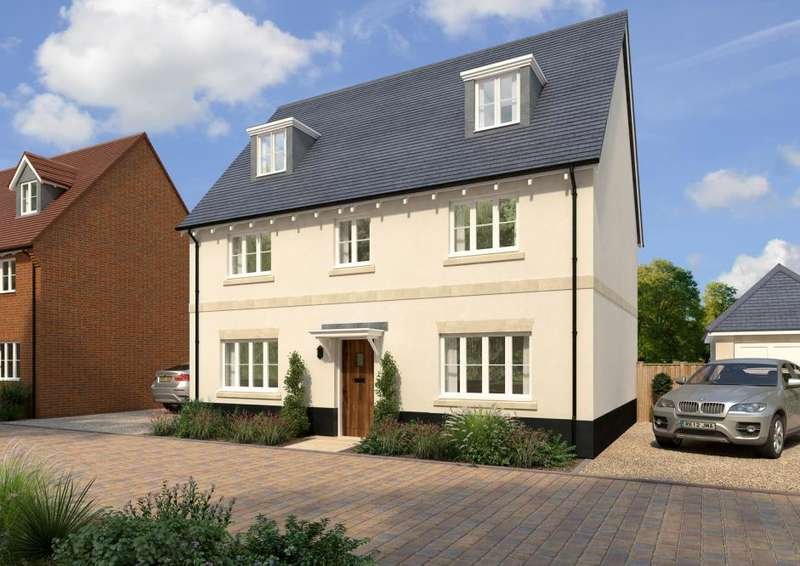 5 Bedrooms Detached House for sale in Frenches Green, Policemans Lane, Upton, Poole, BH16 5NE