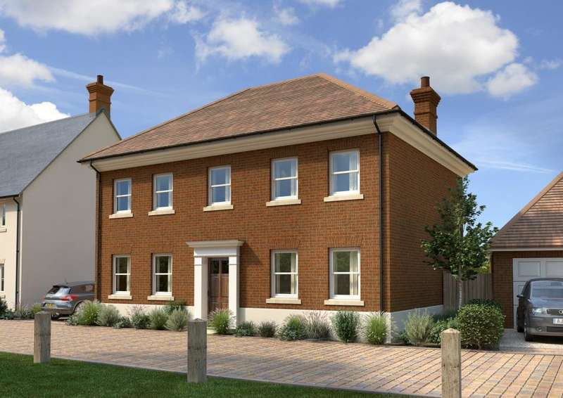 4 Bedrooms Detached House for sale in Frenches Green, Policemans Lane, Upton, Poole, BH16 5NE