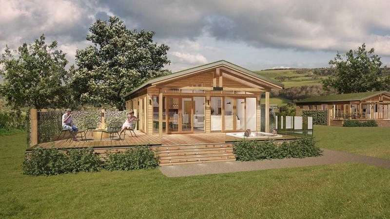 Detached House for sale in 1/2/3/4 beds lodges, Afan Valley, Port Talbot, South Wales SA13