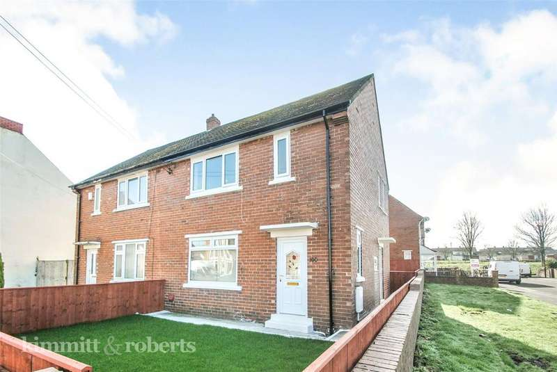 3 Bedrooms Semi Detached House for sale in Brickgarth, Easington Lane, Tyne and Wear, DH5