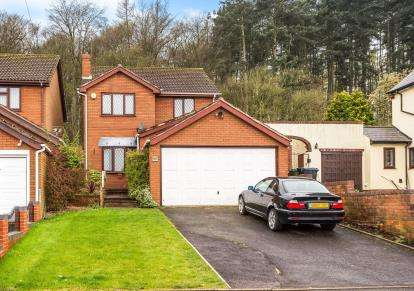 4 Bedrooms Detached House for sale in Mount Pleasant, Kingswinford, West Midlands