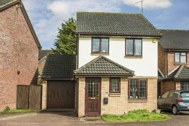 3 Bedrooms Link Detached House for sale in Worrall Way, Lower Earley, Reading,