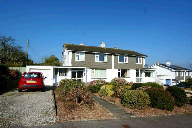 3 Bedrooms Semi Detached House for sale in Northfield Drive, Truro