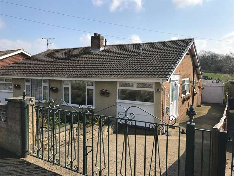3 Bedrooms Semi Detached Bungalow for sale in Knapping Hill, Harrogate, HG1 2DN
