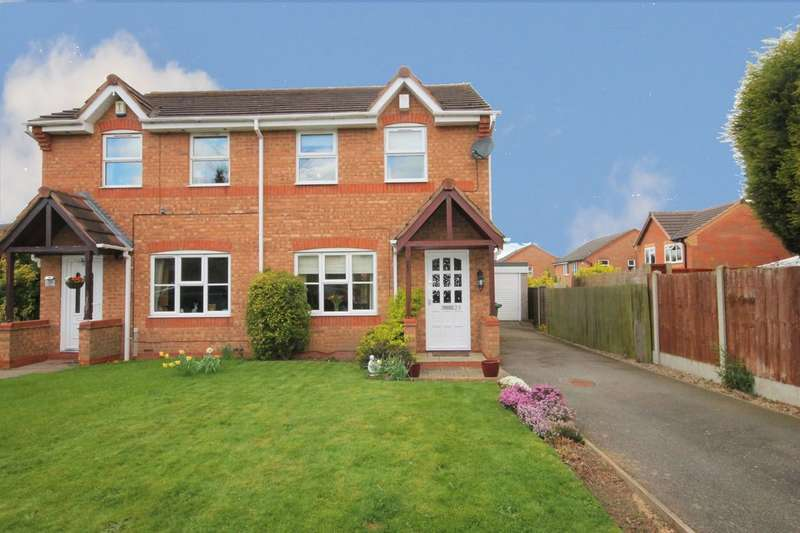 3 Bedrooms Semi Detached House for sale in Caister, Amington, Tamworth, B77 3QB