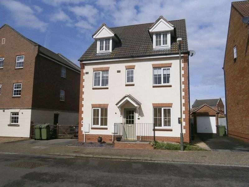 5 Bedrooms Detached House for sale in Snowdonia Road, Tewkesbury, GL20 7RN