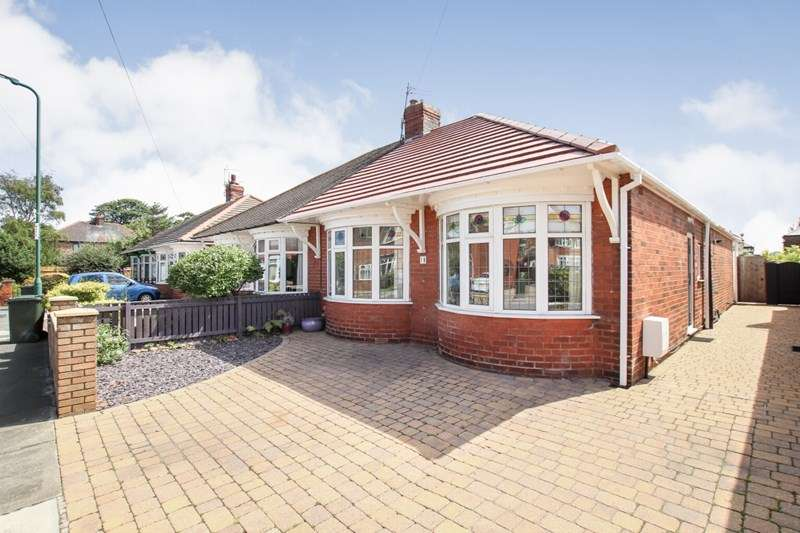 2 Bedrooms Semi Detached Bungalow for sale in St. Thomas Grove, Redcar