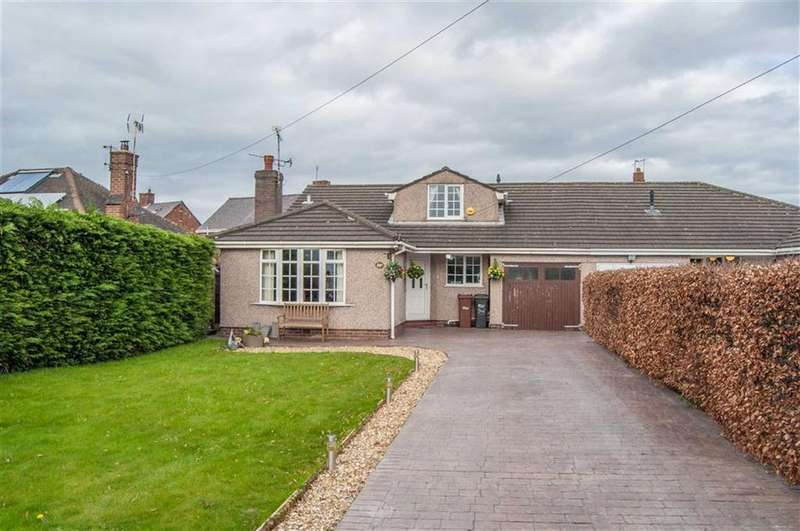 3 Bedrooms Semi Detached Bungalow for sale in Chester Road, Sandycroft, Deeside, Deeside, Flintshire