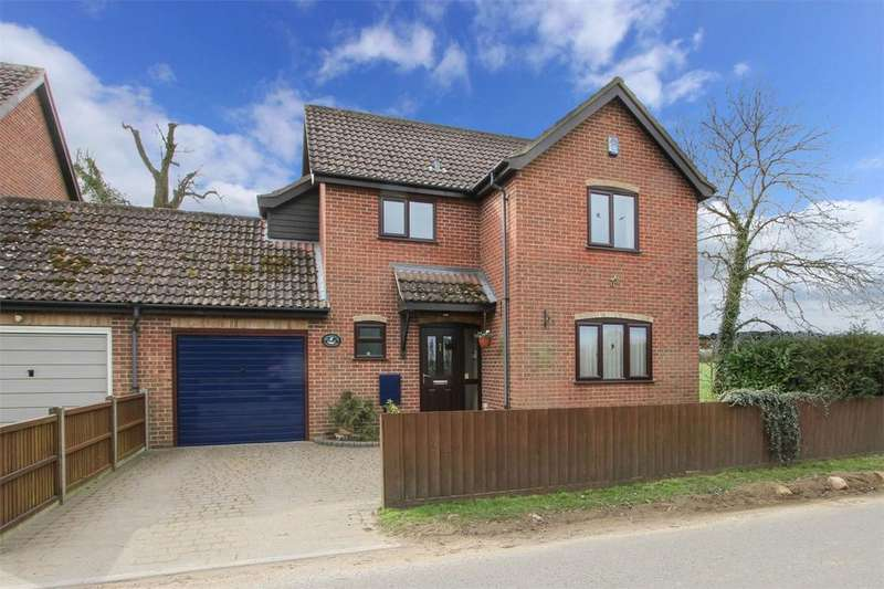 3 Bedrooms Semi Detached House for sale in Station Road, Spooner Row, Norfolk