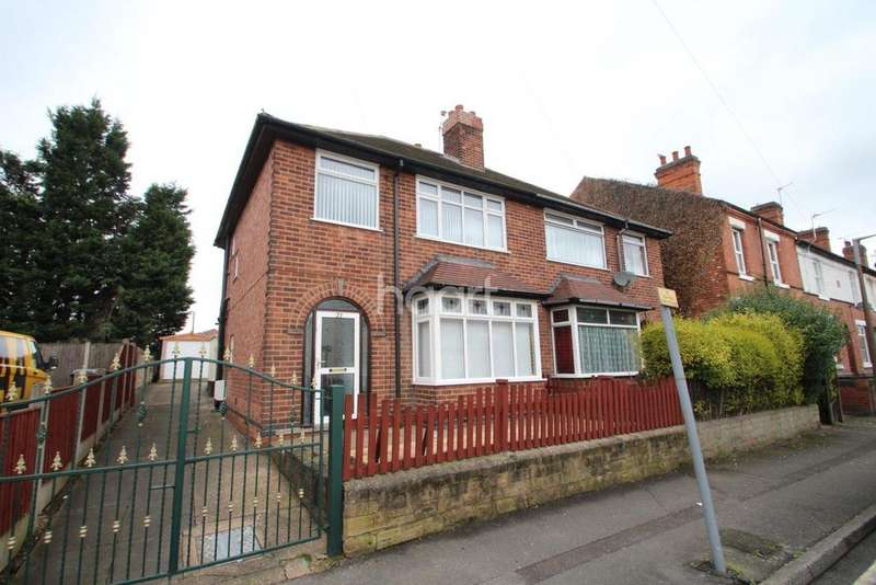 3 Bedrooms Semi Detached House for sale in Montague Road, Hucknall