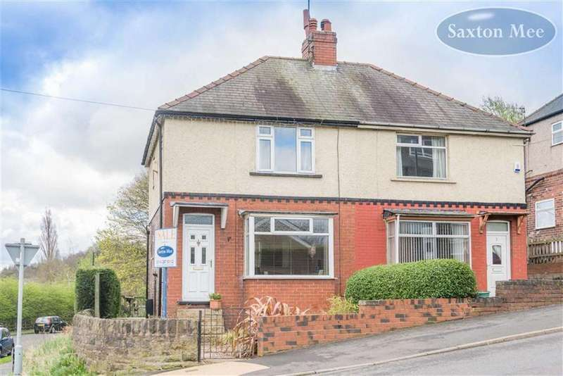 3 Bedrooms Semi Detached House for sale in Hole House Lane, Stocksbridge, Sheffield, S36
