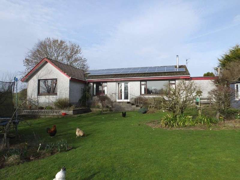 4 Bedrooms Detached Bungalow for sale in 4 Port Road, Haugh of Urr, Castle Douglas, Dumfries and Galloway, DG7