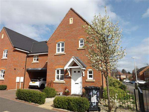 3 Bedrooms Detached House for sale in Borough Way, Nuneaton