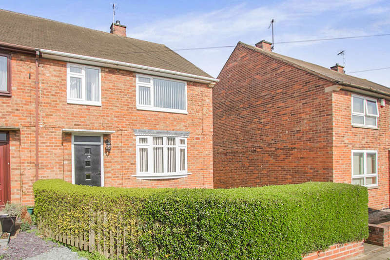 3 Bedrooms Semi Detached House for sale in Amhurst Close, Leicester, LE3