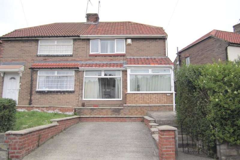 2 Bedrooms Semi Detached House for sale in Rothbury Gardens, Lobley Hill, Gateshead, NE11