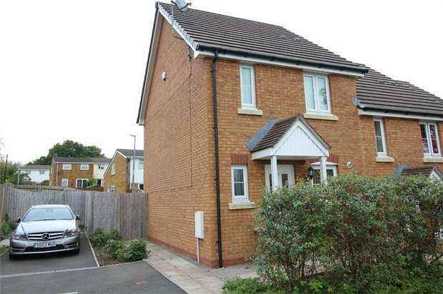 2 Bedrooms Semi Detached House for sale in Thorncliffe Way, St Dials, CWMBRAN