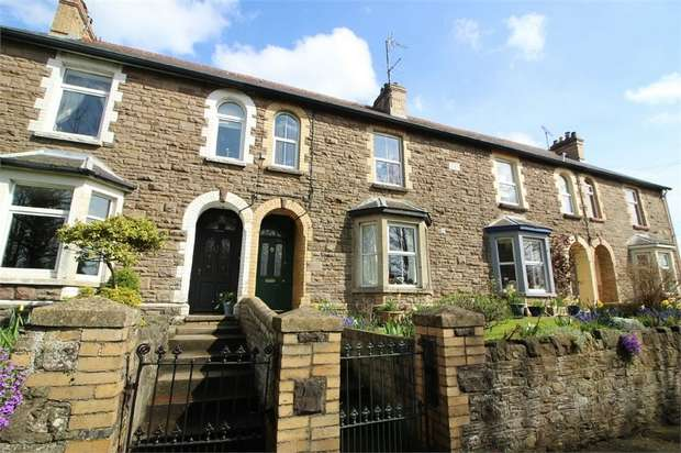 3 Bedrooms Terraced House for sale in Raglan Terrace, ABERGAVENNY, Monmouthshire