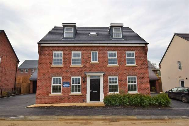 5 Bedrooms Detached House for sale in Line Way, Earls Barton, NORTHAMPTON
